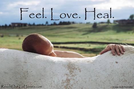 feel love heal